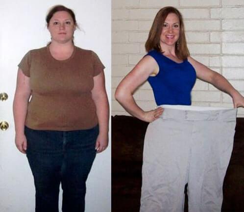 donna perdita di peso